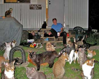 Caboodle Ranch Cats and Craig Grant
