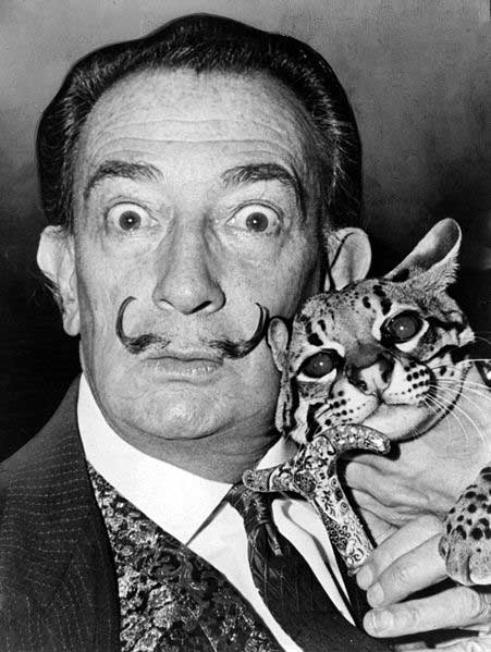 Dali with Ocelot