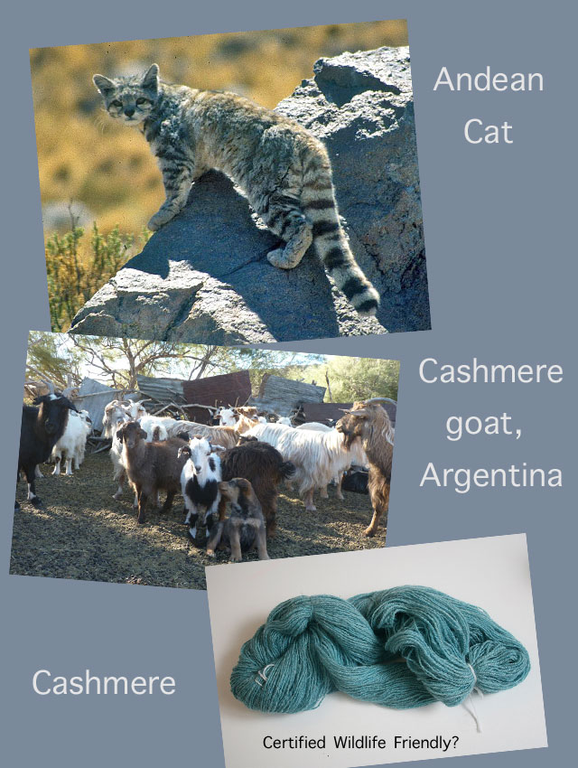 Is the cashmere wildlife friendly?