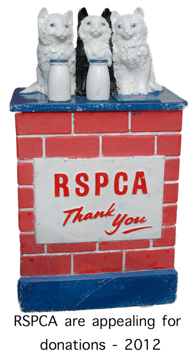 RSPCA Appeal for Donations 2012