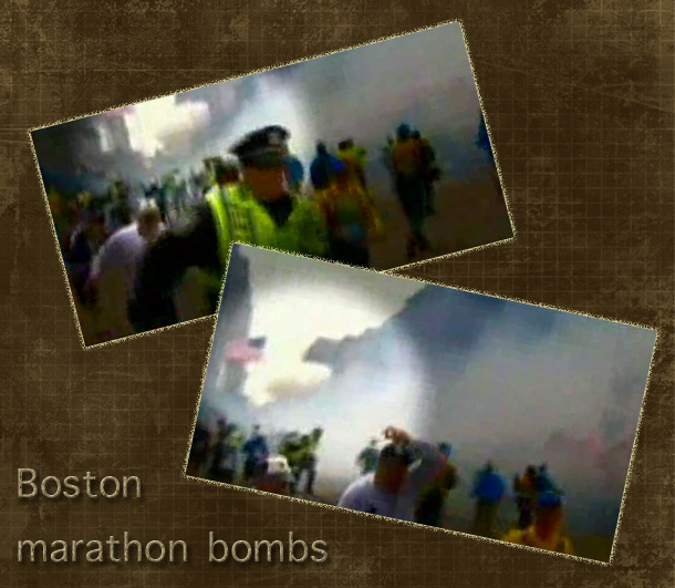 Boston marathon bombs
