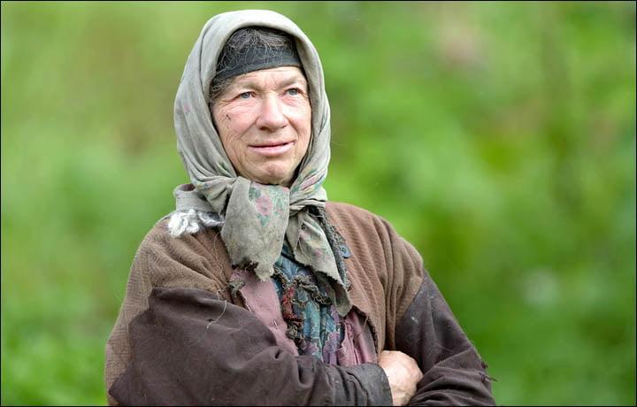 Siberian hermit lady Agafya