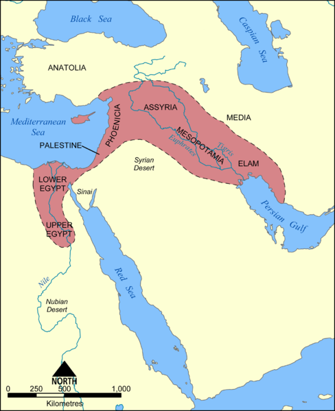 Fertile crescent - where the domestic cat was created