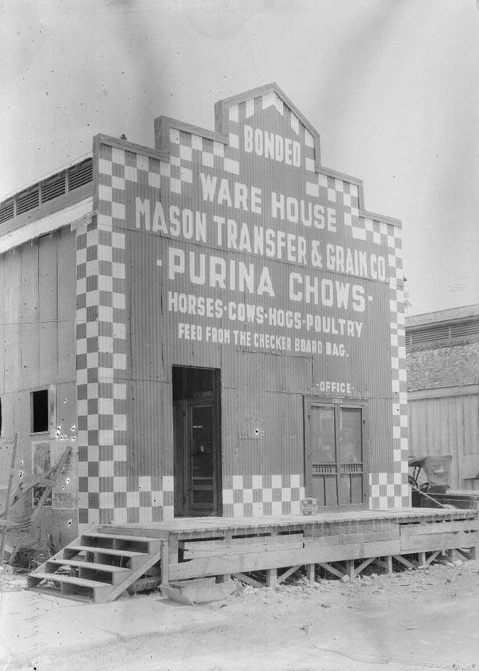 Purina Chow Warehouse 1910-1920
