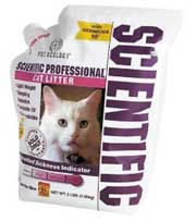 Scientific cat litter