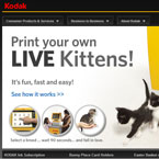Kodak Live KItten 3D Printer!