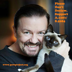 rRcky Gervais supports NY ban on declawing