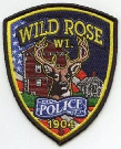 Wild Rose police badge