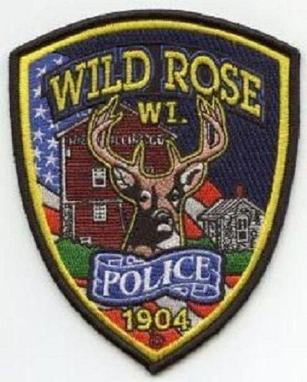 Wild Rose police badge