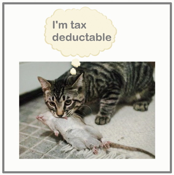 Tax deductable cats