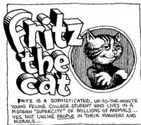 Description of Fritz the Cat