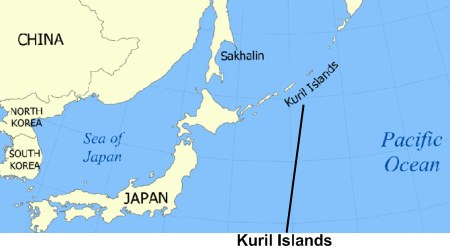 kuril islands map wikimedia commons