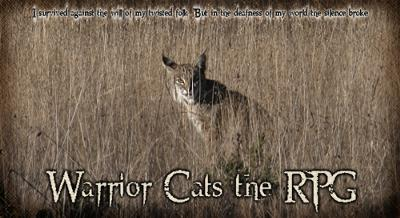 Warrior Cats the RPG