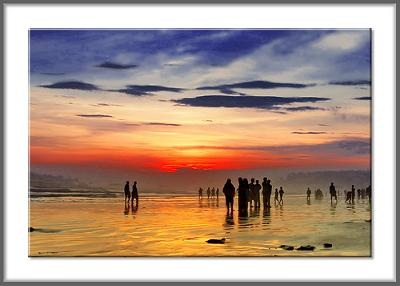 Golden Beach Karachi - Photo by AHMED...(Flickr)