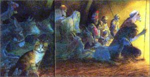 The Cat in the Manger by Michael Foreman