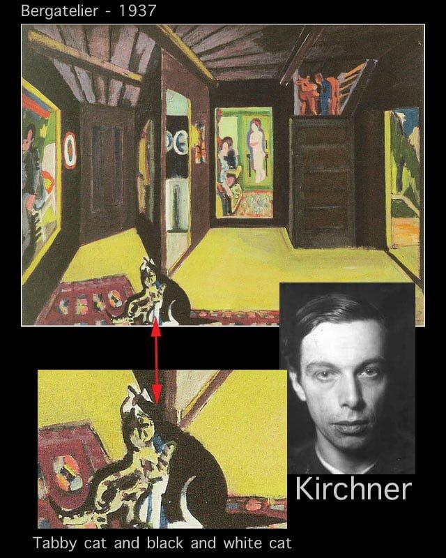 Ernst Ludwig Kirchner Bergatelier 1937