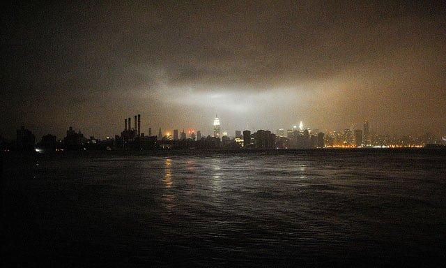 Frankenstorm Brewing Up