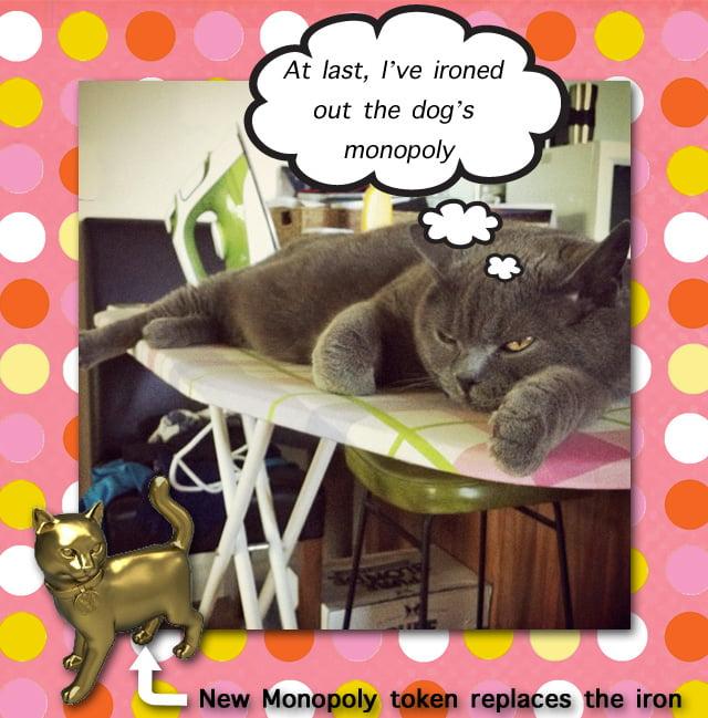 Cat Monopoly Token