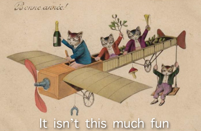 Shipping Cats. Picture in public domain.