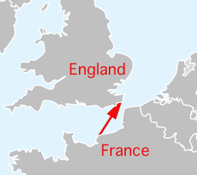 Le Havre to Dover