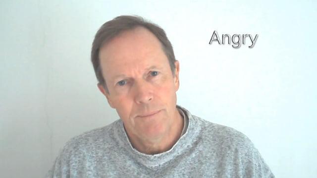 Michael Broad angry