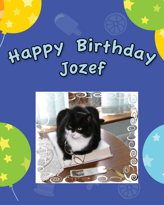 How I celebrated the birthday of a cat living with a contributor to PoC years ago