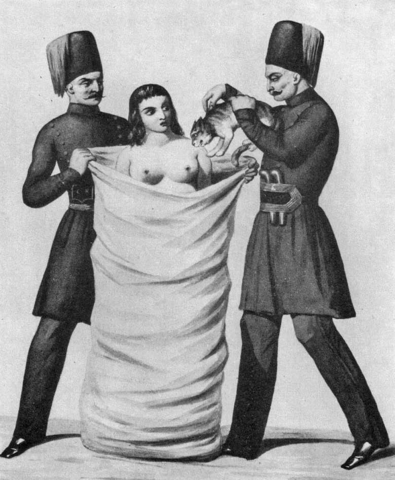 Turkish adultress and cat