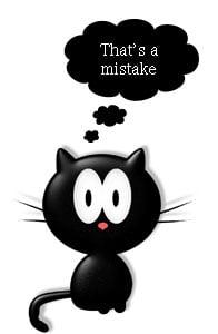 Cat caretaking mistakes