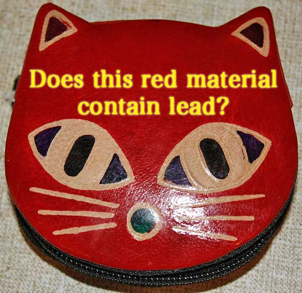 Lead poisoning in cats
