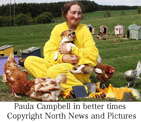 Paula Campbell who owned an animal sanctuary