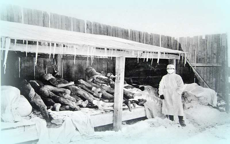 Manchurian Plague 1910 Unknown photographer