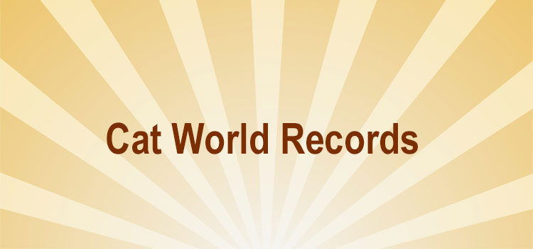 Cat world records