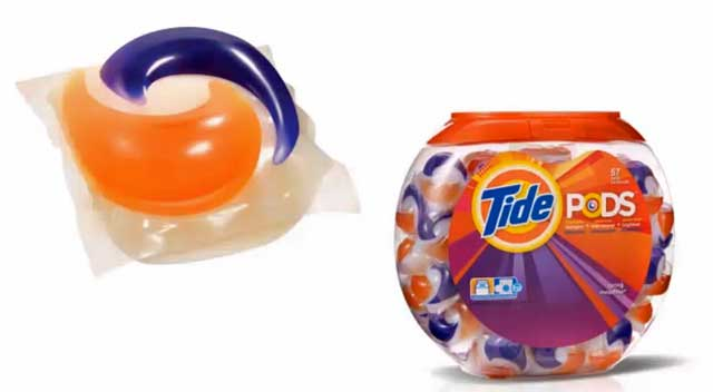 Detergent pods are potentially dangerous to pets and children