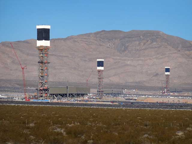 Ivanpah Solar Energy Power Plant