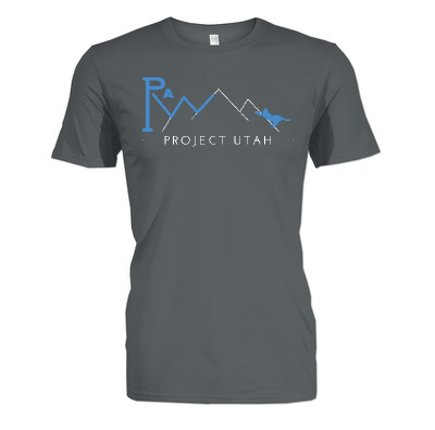 Paw project utah t shirt