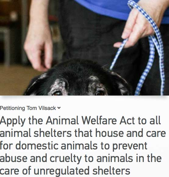 Petition for change to the US Animal Welfare Act