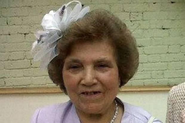 The lady who was beheaded. So sad.