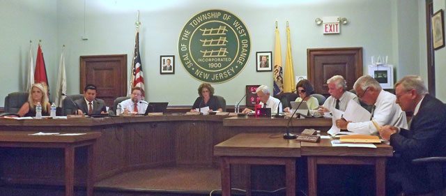 West Orange Township Council meeting