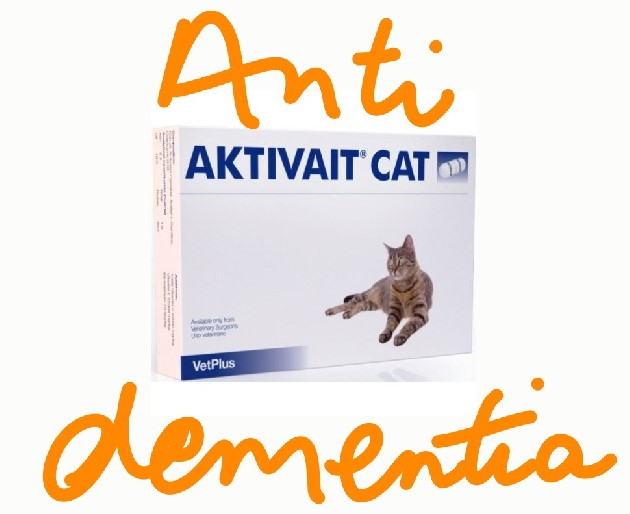 Anti-dementia tablet for cats
