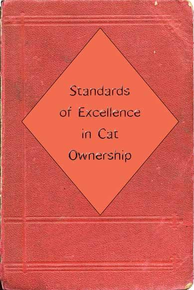 Cat caretaking standards book