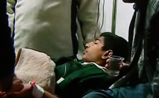 Pakistan school children shot