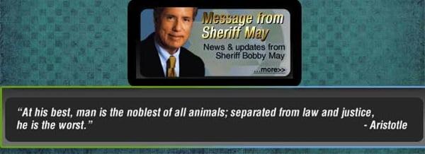 Sheriff may