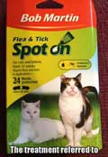 Bob Martin cat flea treatment