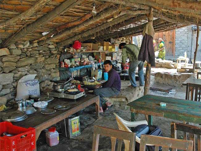 Roadside eatery India