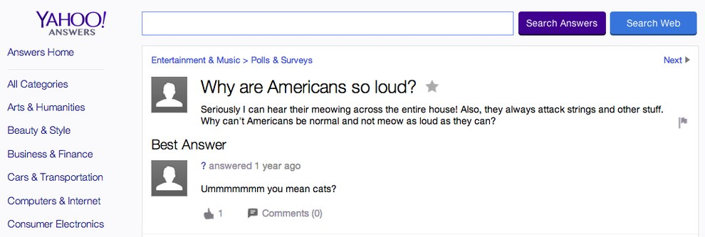 Why are americans so loud