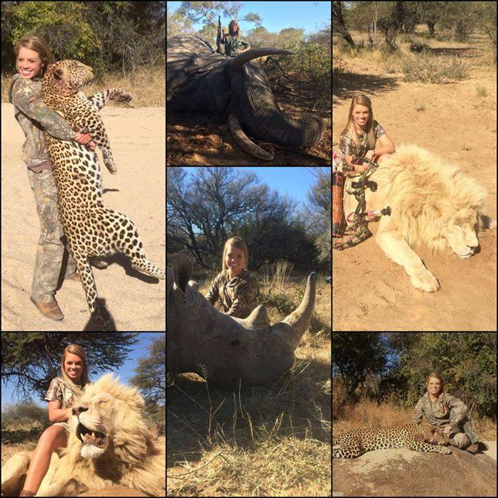 Kendall Jones montage of animal kills