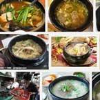 South Korean meat soup