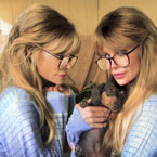 Barbi twins are animal advocates