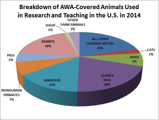 Decline in animal testing in the USA 2
