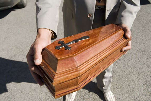 pet coffin